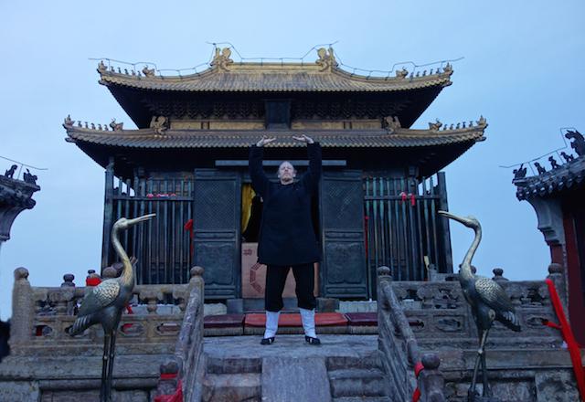 Tian Zhu, dem höchsten Gipfel des Wudang Shan