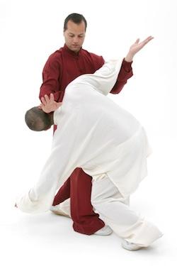 Tai Chi Kampfkunst-Training: Anwendung der Form