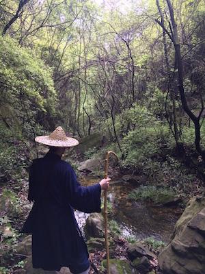 Daoisten im Wudang Shan