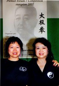 Ellen und Katy Cheng 2002.