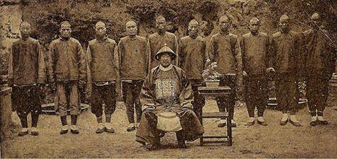 Mandschu Soldaten