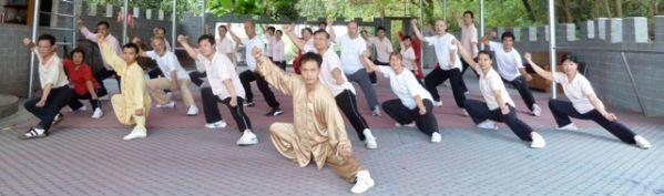 Nengbin Fu ist eine Kapazität des Chinesischen Taiji