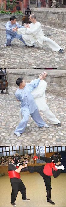 Partnerarbeit im Taijiquan