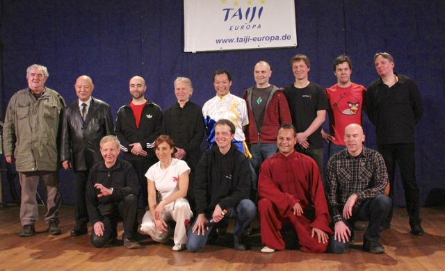 Tai Chi - Push Hands Gala 2013