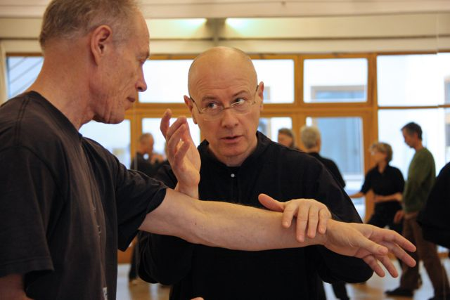 12. Internationales Push Hands Treffen in Hannover 2012, Workshop von Roberto Benetti