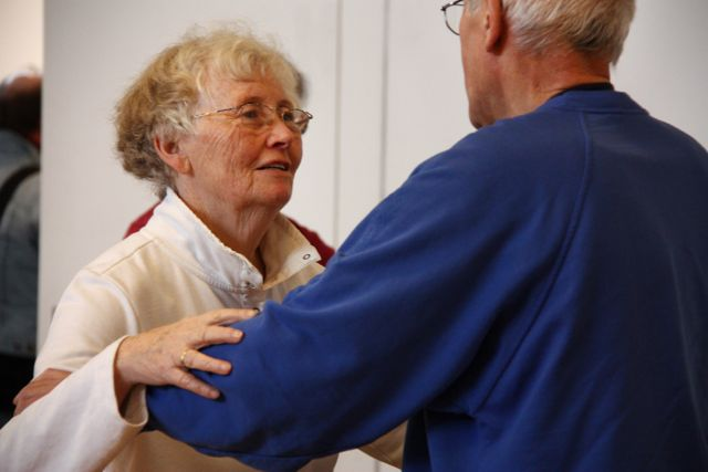 12. Internationales Push Hands Treffen in Hannover 2012, Einführung freies Pushen mit Roberto Benetti