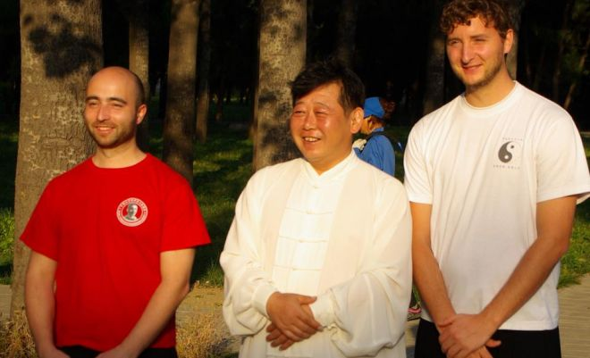Nabil Ranné, Chen Yu und Konstanin Berberich