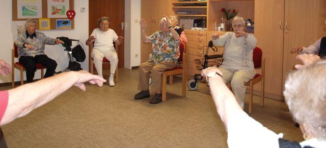 Qigong mit Senioren