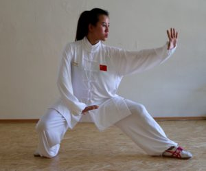 Sha Wushu Yinghua posture 4
