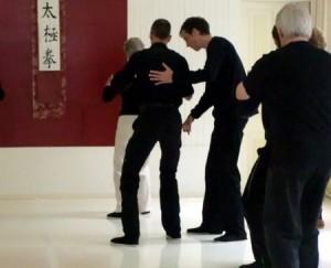 Taiji Lehren mit Parkinson