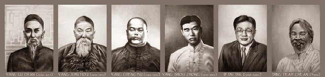 Vertreter des Tai Chi Yang Stils