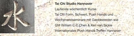 Tai Chi Chuan Hannover