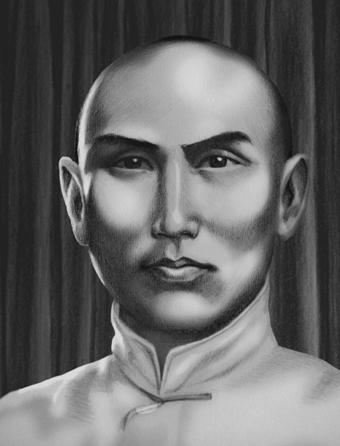 Yang Banhou war Sohn von Yang Luchan
