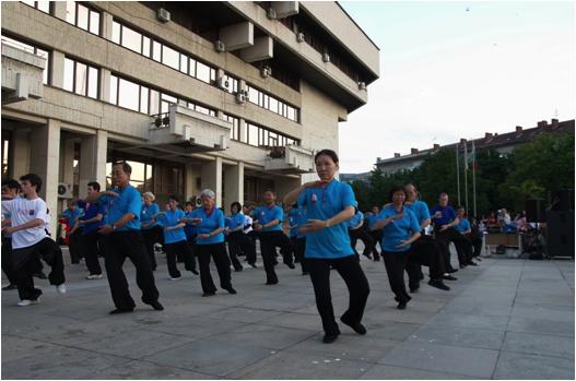 Yang Stil Taijiquan Demo
