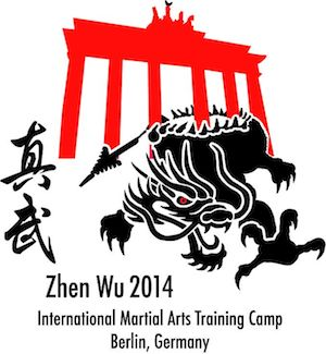 "Logo ""Zhen Wu Martial Arts Training Camp"""