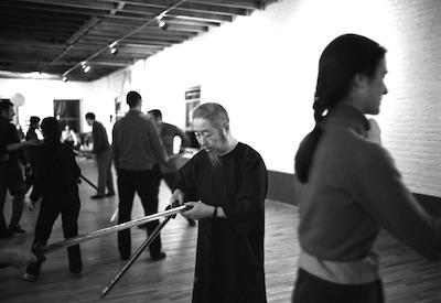 Tai Chi Schwert-Unterricht