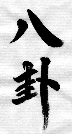 pakua_Kalligraphie